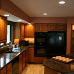 kitchen lighting remodel after