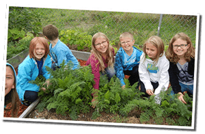 Blue Creek School Garden