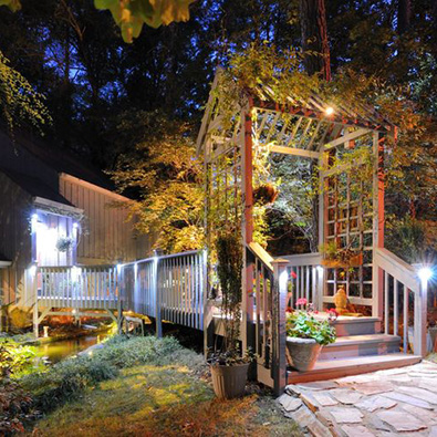 Lighting Up Decks and Patios